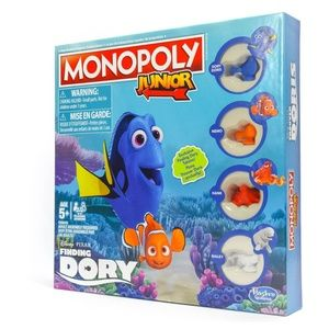 MONOPOLY JUNIOR Disney/Pixar Finding Dory